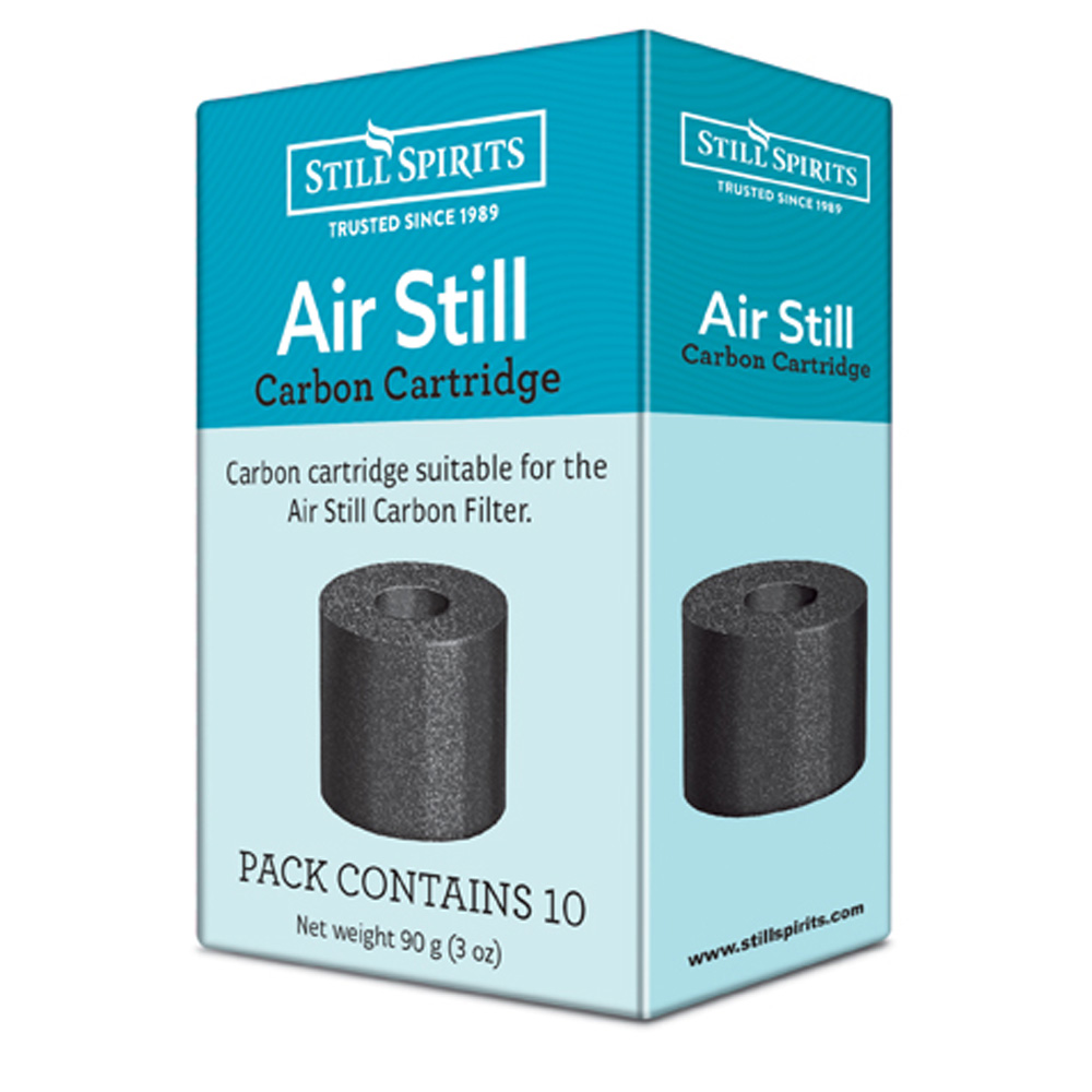 Air Still Carbon Cartridge 10 Pack