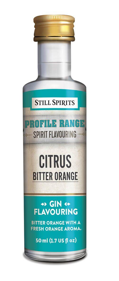 Still Spirits Gin Profile - Citrus - Bitter Orange