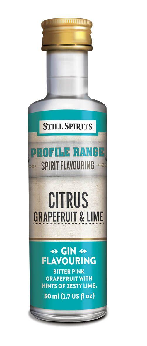 Still Spirits Gin Profile - Citrus - Grapefruit & Lime
